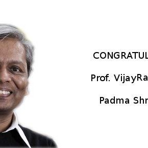 Prof VijayRaghavan conferred with Padma Shri